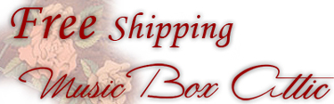 Free Shipping at Music Box Attic