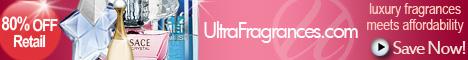 80% OFF retail at ultrafragrances.com