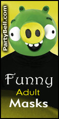 Funny Adult Masks - PartyBell.com