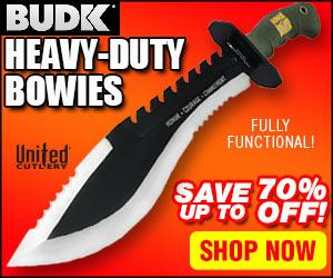 BUDK bowie knife