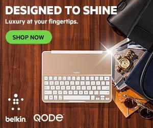 NEW! Gold Ultimate Keyboards from Belkin