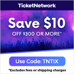 Save $10 at TicketNetwork.com with code TNTIX
