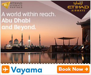 Vayama - Etihad Airways: Flying Re-imagined