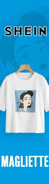 160x600 Grandi affari su T-shirt! Visita it.SheIn.com oggi! Offerta limitata