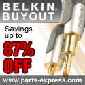 Save big on Belkin cable, parts, and accessories!