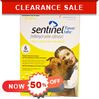 Image for Sentinel for Dogs @ 50% Off + Extra Discount & Free Shipping on All Orders