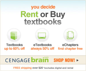 Save up to 60% on textbooks, get 50%off eTextbooks