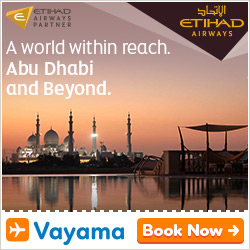 Vayama - Etihad Airways: Find great deals to Abu Dhabi, India and beyond