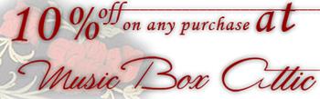 Music Box Attic 10% off - Where Gifts Come True