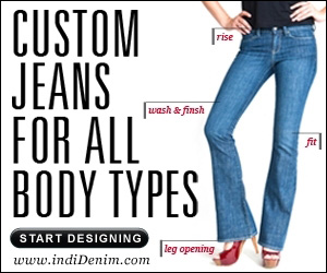 Custom jeans for all body types. Start designing.