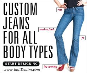 Custom jeans for all body types. Start designing.