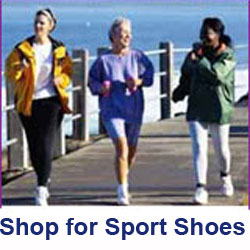 Women's athletic, sport and comfort shoes