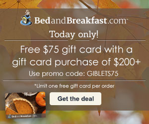 Free $60 gift card with a $250+ purchase