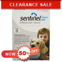 Image for Grab a Bargain Today for Sentinel Dogs at 50% Off + 10% Extra Discount on All Orders