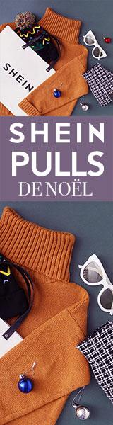 160x600 Des offres fantastiques sur les chandails de Noël! Visitez www.SheIn.fr Offre à durée limitée!