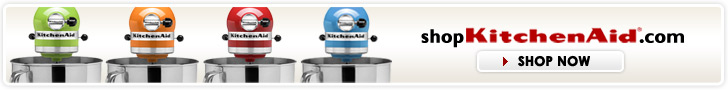shopKitchenAid.com Large Header Image
