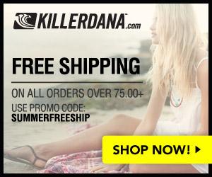 300x250 Summer Free Ship Banner