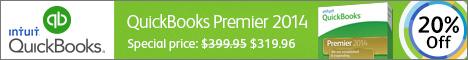 QuickBooks Premier 2014 20% off