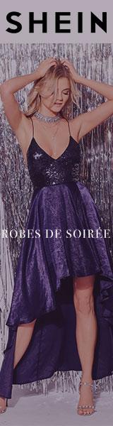 160x600 Des offres fantastiques sur les robes de soirée! Visitez www.SheIn.fr - Offre à durée limitée!