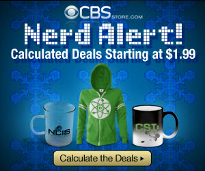 CBS Store: Nerd Alert! Calculated Deals Starting at $1.99