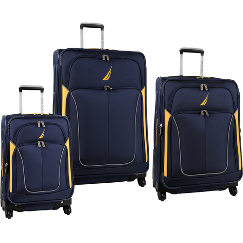 Nautica Galley 3 Piece Spinner Luggage Set