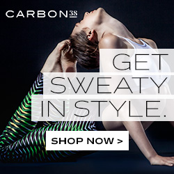 Carbon38. Get sweaty in style. Shop Now