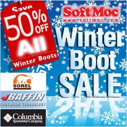 Softmoc.com- Save 50% On All Winter Boots