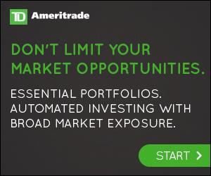 TD Ameritrade Essential Portfolios 300