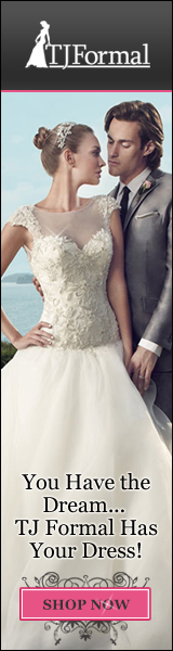 Get Your Wedding Dress at TJ Formal Today!