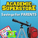 Savings for Parents at Academic Superstore