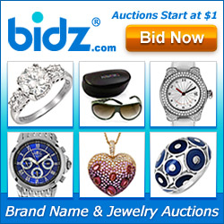 Bidz.com Brand Name & Jewelry Auctions