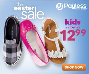 easter shoe sale