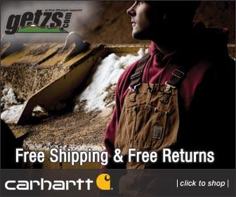 Carhartt at Getzs.com