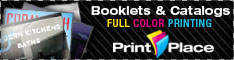 Full Color Booklet & Catalog Printing