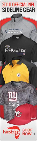 Official 2010 NFL Sideline Gear