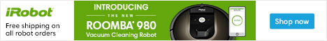 Introducing the Brand New iRobot® Roomba 980. Shop Now at iRobot.com