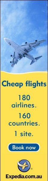 Cheap Flights from Expedia.com.au