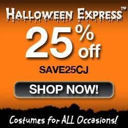 BIG Savings at Halloween Express