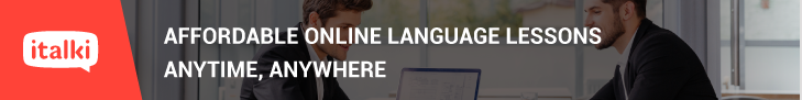 Find a native language teacher online