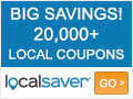 Deals on LocalSaver Coupon: Extra 10% Off Your Order