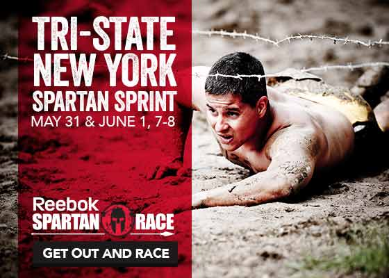 Tri-State NY Spartan Sprint, May 31 & June 1, 7-8, 2014. Sign up for this Reebok Spartan Race Now!