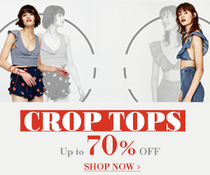 Up To 70% Off Crop Tops Your Favorite Style