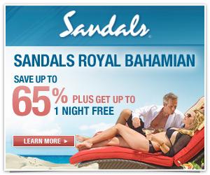 Sale at Sandals Royal Bahamian