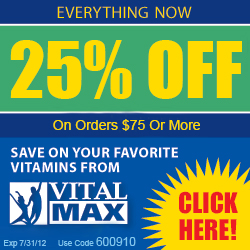 Click & automatically get 25% Off $75+ orders!
