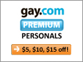 gay.com Premium Personals Free Week Offer