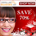 39dollarglasses.com 70% off banner