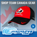 Get Your Official Team Canada Gear at IceJerseys.com! SAVE $10 off all purchases over $100 with Coupon Code 10OFF100