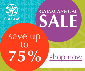 Gaiam Annual Sale - Save 70%