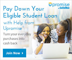 Pay down your student loan with help from Upromise.