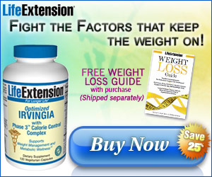 Optimized Irvingia - Save 25% plus FREE Weight Los
